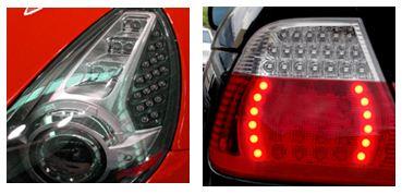 汽车前大灯、尾灯、示宽灯等多种汽车大功率led的驱动高清图片