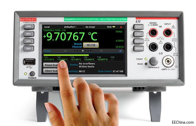 泰克最新DMM和DAQ简化并增强测试设置、执行和分析