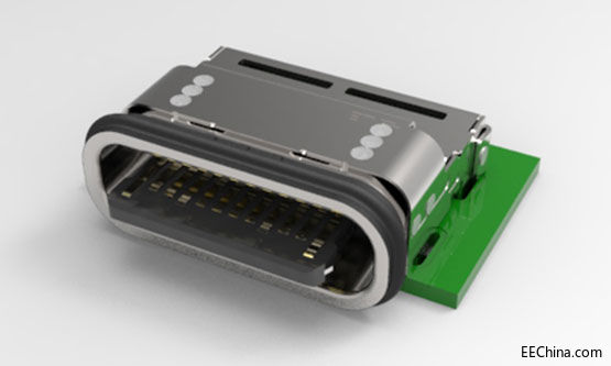 TE首次推出全新防水型USB Type-C连接器