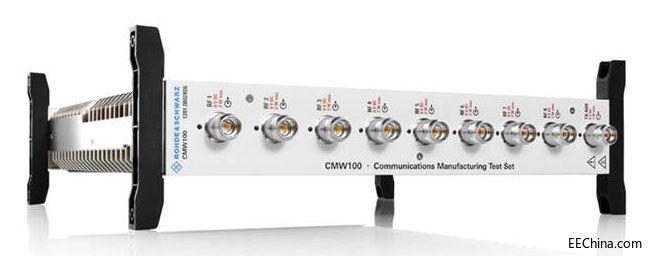R&S CMW100 无线通信测试仪支持5G NR设备的大规模生产