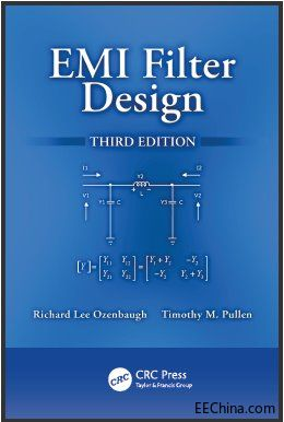 原版 《EMI filter Design 3rd Edition- (2012)》EMI 滤波器设计 第三版