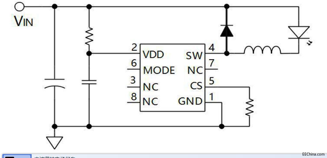 AP2911网络电玩城IC_替代LN2556降压恒流LED驱动芯片