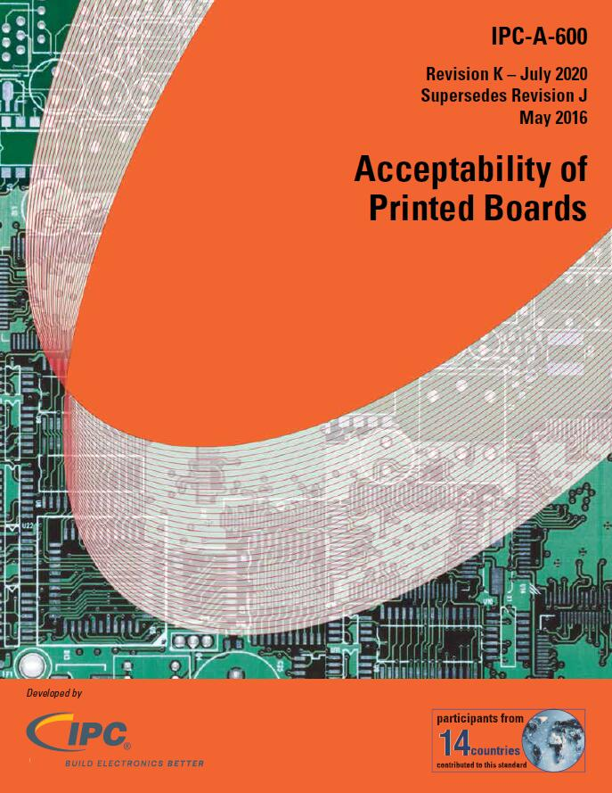 IPC-A-600K-2020 Acceptability of Printed Boards EN
