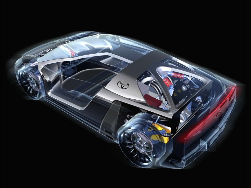 汽车内部结构设计透视图 52页 4.5m ←← , 随便