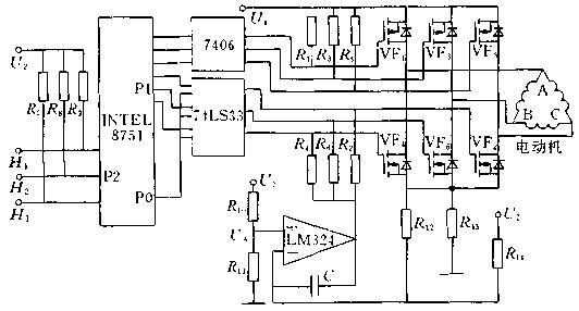 直流电动机工作原理与控制方法高清图片