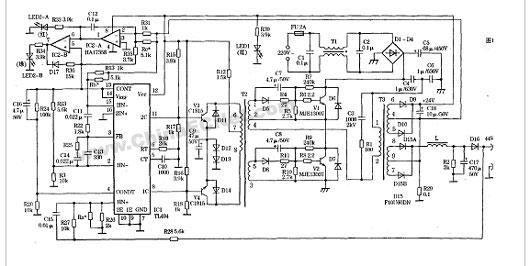 电路 电路图 电子 户型 户型图 平面图 原理图 530_266