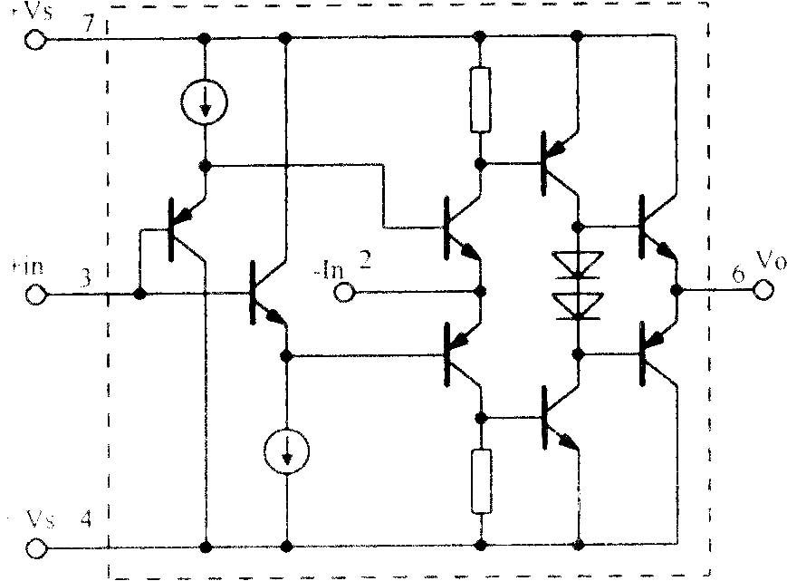 高速电流反馈运算放大电路opa603 - 模拟电子技术