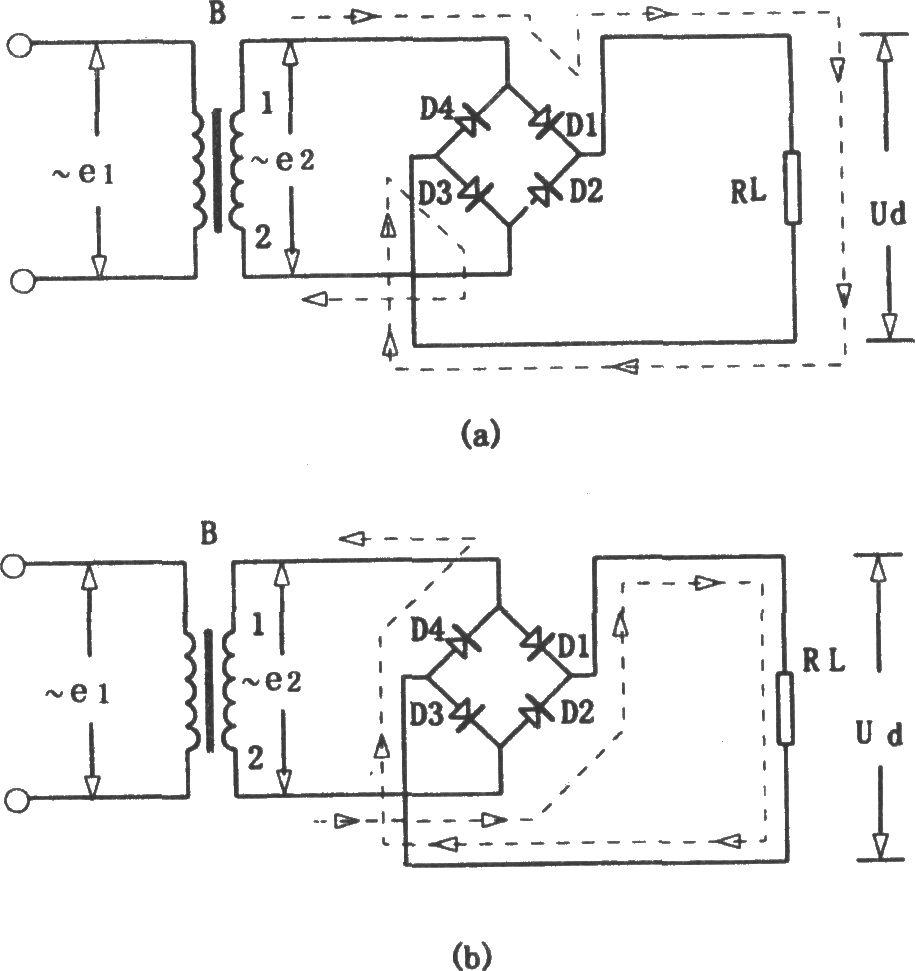 桥式半波整流电路_桥式整流电路 - 电源技术 - 电子工程网