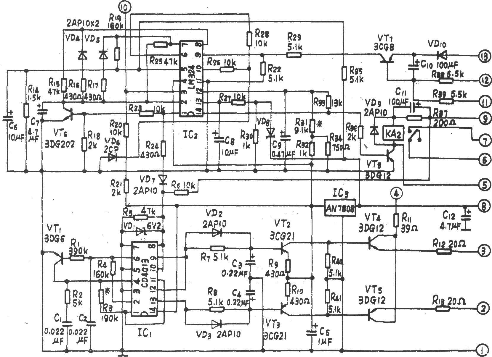 aep-p200全自动停电应急电源功率输出级电路