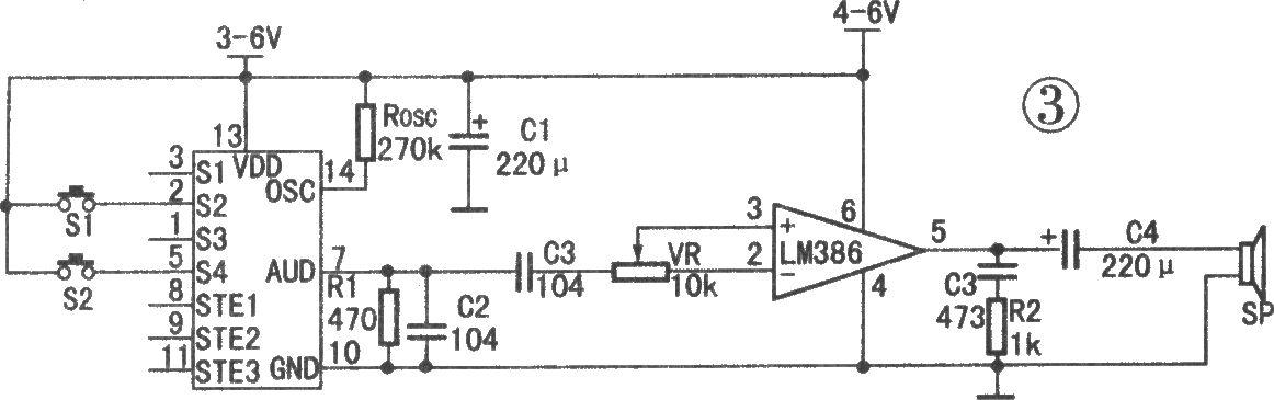 ml-01g与lm386相连应用电路(语音播放) - 音频/视频