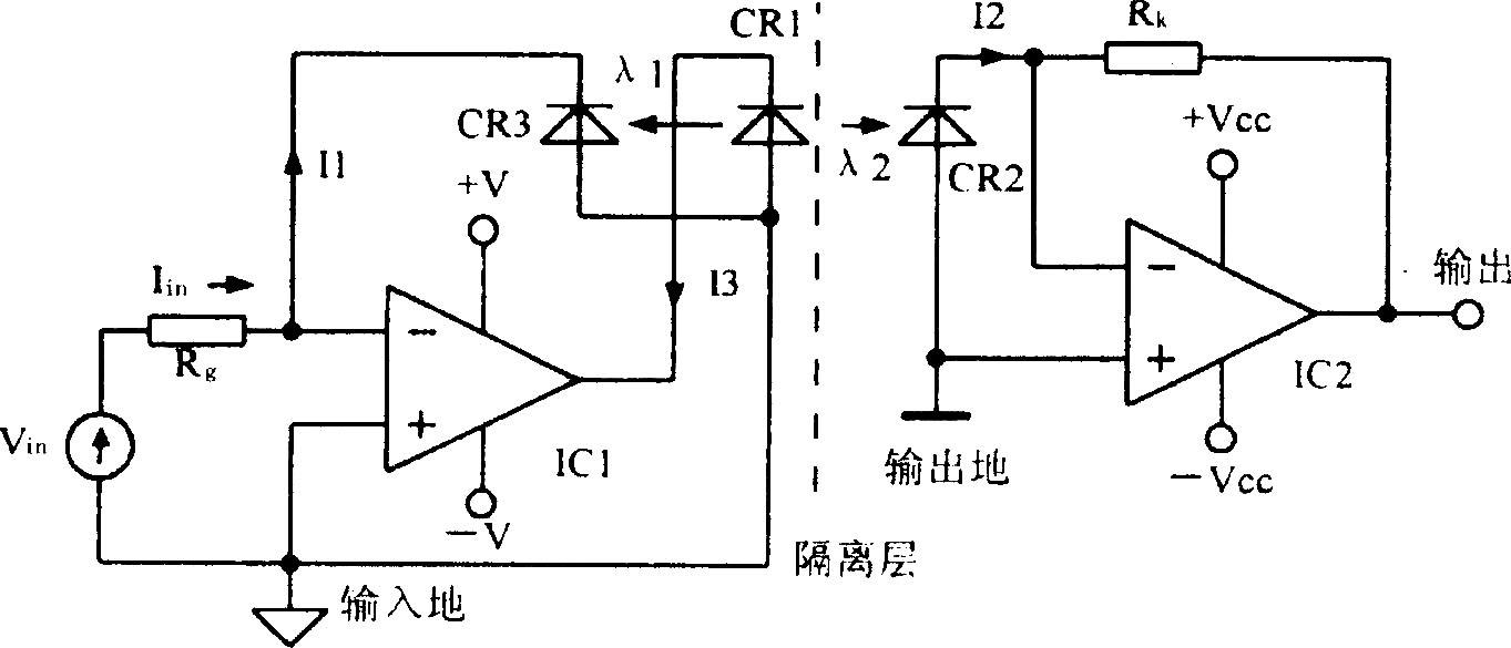 eechina首页 69 模拟电子技术 69 电路 > 光耦线性隔离放大器3650