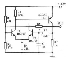 关键字: 多谐振荡器-20kHz多谐振荡电路