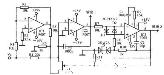三角波-方波压控振荡器