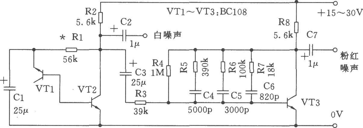 噪声滤波基本电路