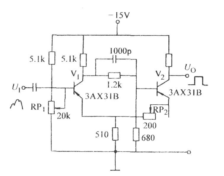 可提高灵敏度的射极耦合双稳态电路