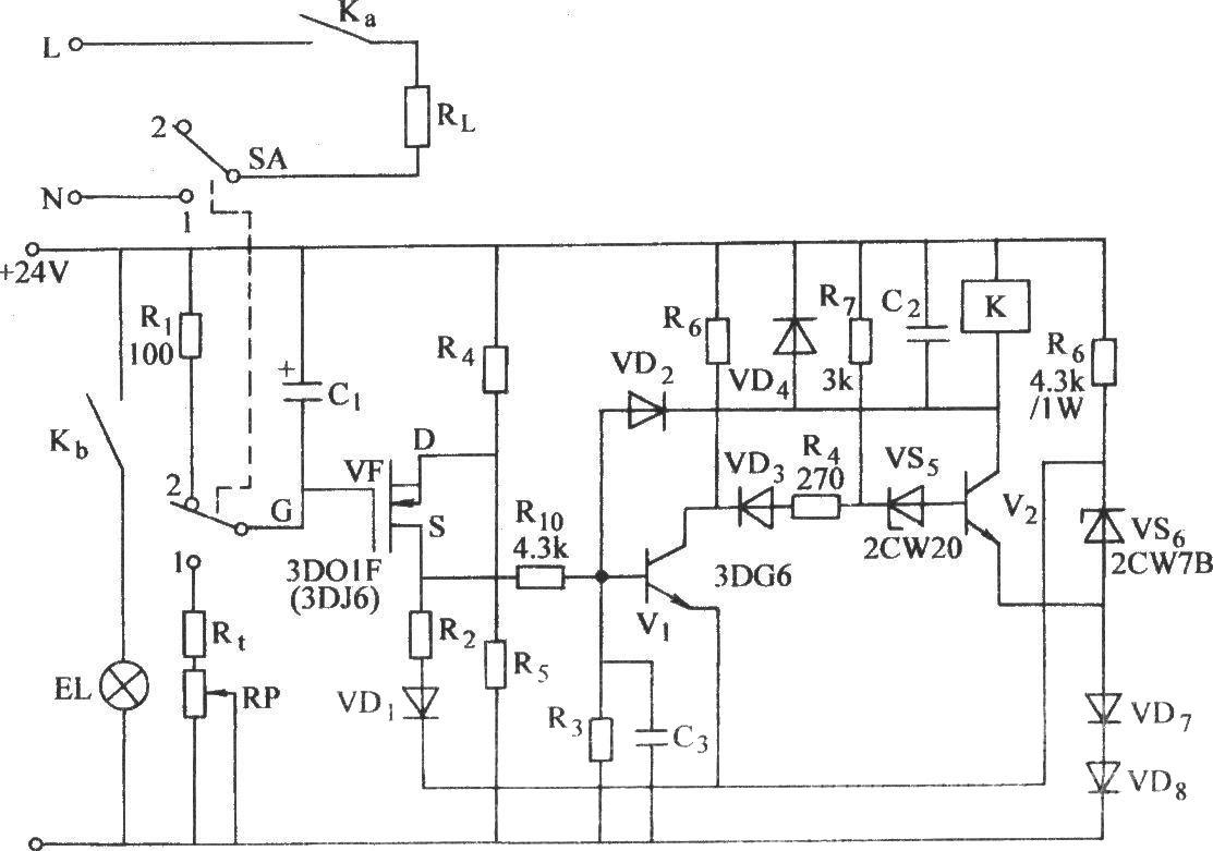 绝缘栅场效应晶体管长延时电路(二)