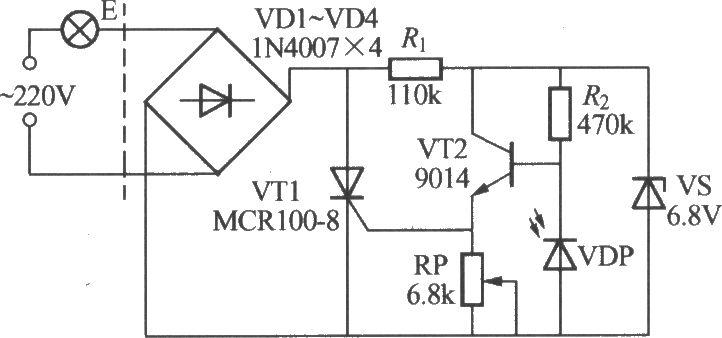 简易光控路灯电路(3)