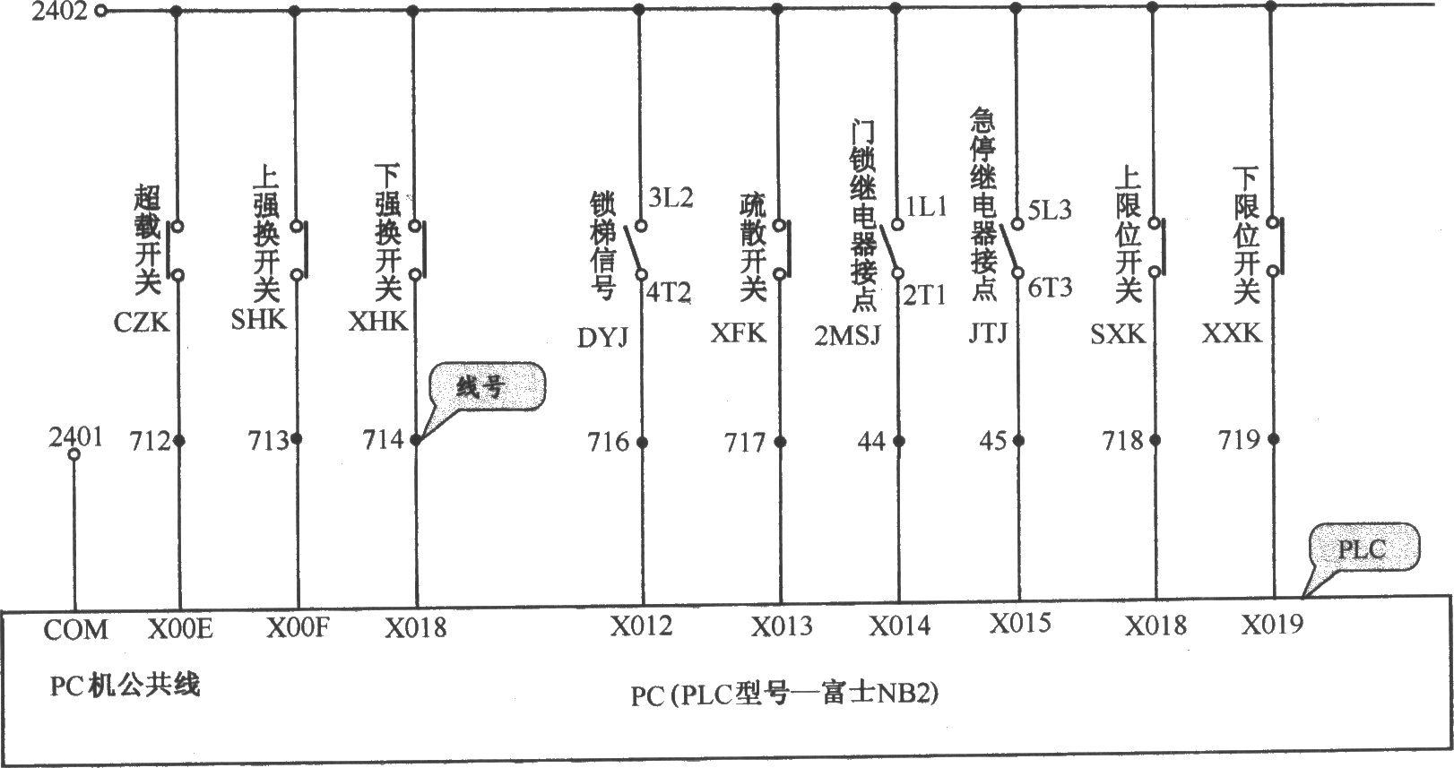 北京图捷电梯控制电路(3)
