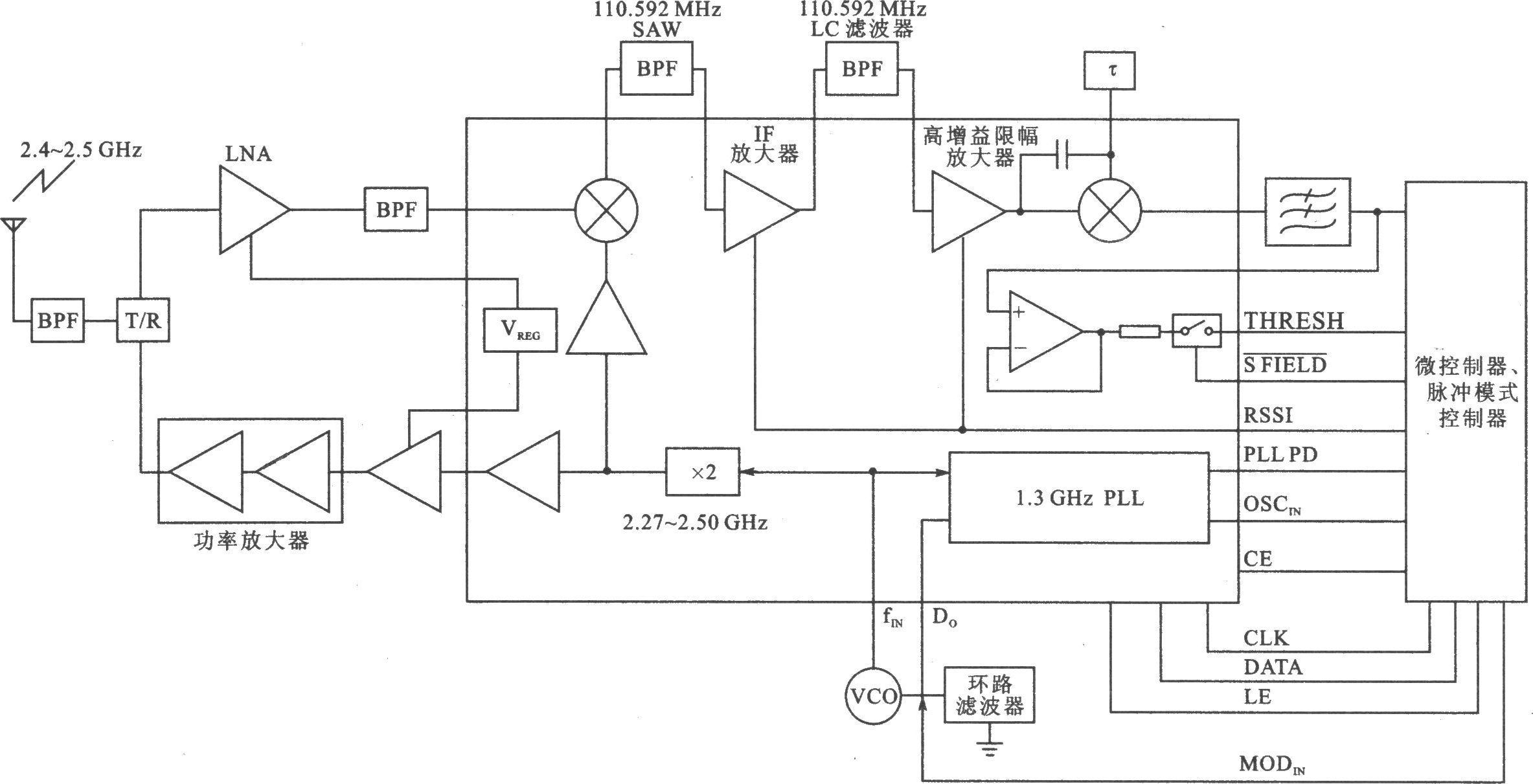 双钻扩音器电路
