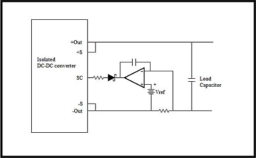 预充电电路可以将电容充电到转换器的最小调整电压,然后转换器再以最