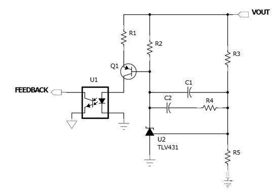 电源隔离模块直流5v转5v接线图