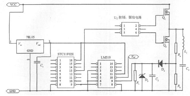 > 一种无线充电识别电路的设计  通过控制开关管达到改变原副线圈耦合