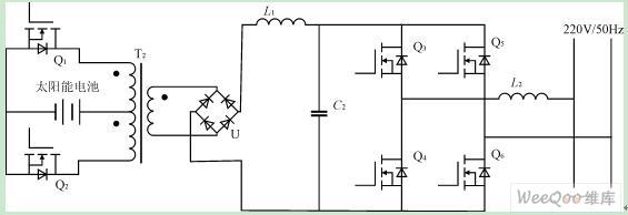 dc/dc变换器的逆变电路可选择的型式有半桥式,全桥式,推挽式.