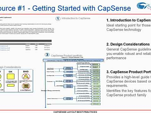 CapSense Layout Best Practices Video - Part 2视频